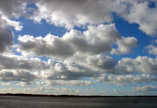 Clouds over Ravenglass